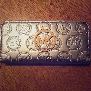 Silver Michael Kors Wallet
